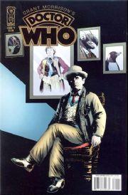 Grant Morrison's Doctor Who #1 (2008) IDW Publishing comic book